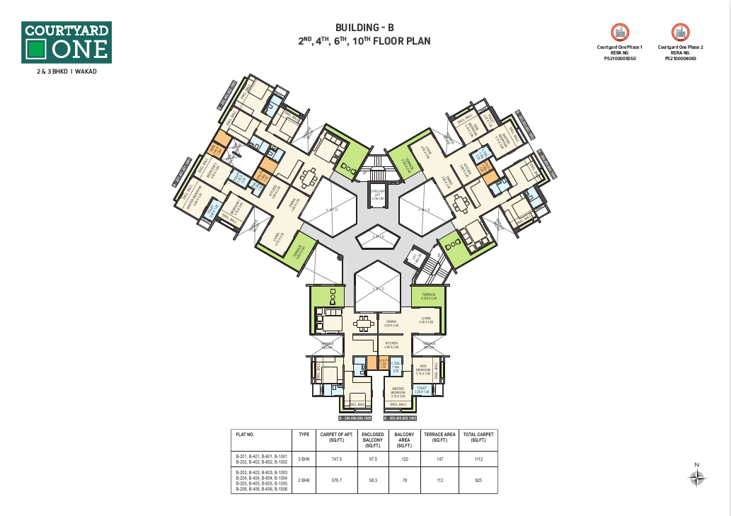 courtyard odd floor plan